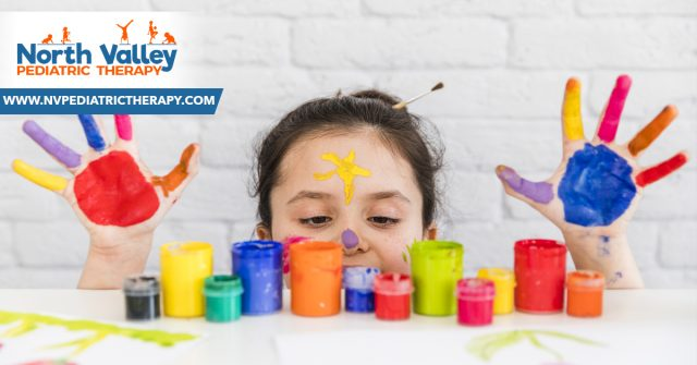 Why is it important to allow your child to get messy?